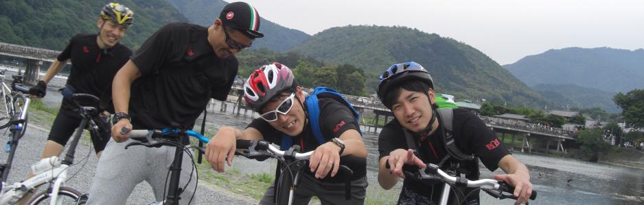 2015/05/23:トロッコ号 夏めく踏切 風と過ぎ [京都ライド2015]